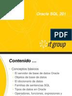 Oracle SQL 201 - V1