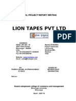 Lions Tapes Project s.y b.b.A