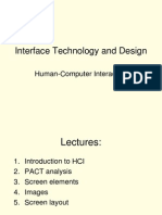 Introduction to HCI201314