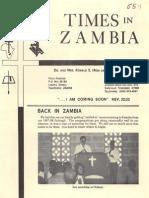 Baumann Ronald Marti 1989 Zambia
