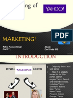 Marketing rebranding yahoo