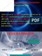 TQM Definition and Four Model