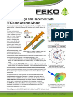 FEKO AntennaMagus Appnote Feb2013