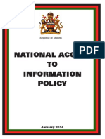 National Access to Information Policy