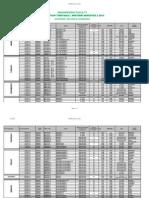 Midterm Timetable Sem 2 - 2014