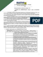 P2 - Fundamentos Da Administração - Revisão