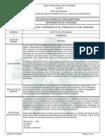 Informe Programa de Formación Complementaria-Diseño Curricular