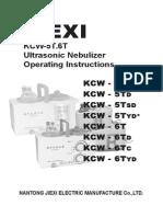 Ultrasonic NULTRASONIC NEBULIZER KCW-6TDebulizer Kcw-6td