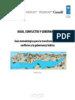Guía Metodológica Para La Transformación de Conflictos y La Gobernanza Hídrica _ Versión Borrador