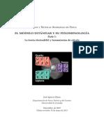 Modelo Estandar y Su Fenomenologia Parte 1