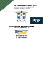 Módulo de Investigación de Operaciones, 14 Octubre 2004