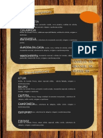Cardapio Lanchonete e Pizzaria Caue