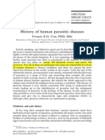 History of Human Parasitic Diseases