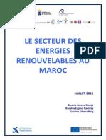 Le Secteur Des Energies Renouvelables Au Maroc