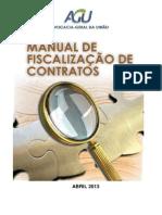Manual Fiscalização Contratos Agu