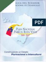 7. Plan NcionalBuen Vivir_2009-2013