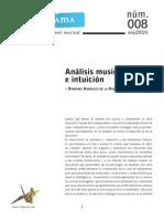 Analisis Musical Intuicion