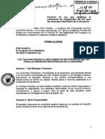 (PL) Recuperación del IGV para empresas industriales en la Amazonía
