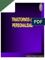 Tema 10 Transtornos de Personalidad