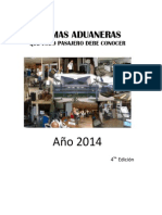 2014 Aduana Cuba Normas