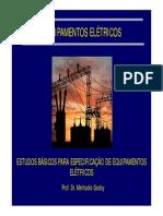 Aula_ 3 Estudos Básicos Para Especificação Dos Equipamentos Elétricos R1