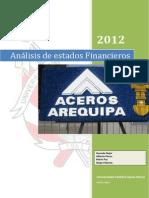 Analisis de Estados Finacieros