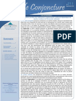 DEPF, La Note de Conjoncture
