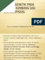 Faktor Genetik Penyebab Kelainan Gigi