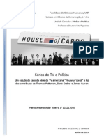 "Um estudo de caso da série de TV americana ""House of Cards"" à luz dos contributos de Thomas Patterson, Doris Graber e James Curran"