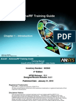 HFSS for Antenna-RF Training Guide v12