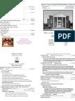 Spiro First United Methodist Church Worship Bulletin for Sunday, December 13, 2009.