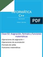 Clase 02 C++ 2014-2