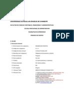 Dinamica de Grupos - Silabo