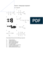 4.4 Exercise 1 - New Organic Compounds
