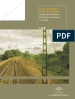 Paisaje y Ferrocarril en El Valle Del Guadalquivir-CUADERNILLO