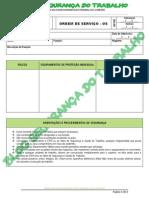 Modelo - Ordem de Serviço - Blog Segurança Do Trabalho