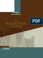 El Proceso Penal Común