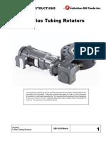 E-Plus Tubing Rotator Operating Instructions