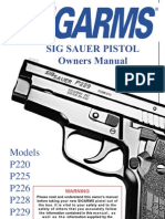 Sig Sauer Pistols Owners Manual