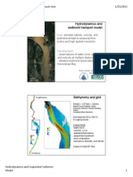 Hydrodynamics and sediment transport model