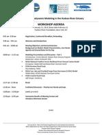 Forum on Hydrodynamic Modeling in the Hudson River Estuary