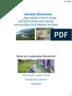 Sustainable Shorelines