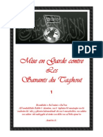 Mise en Garde Contre Les Savants Du Taghout 1