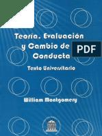 Teoría, Evaluación y Cambio de la Conducta