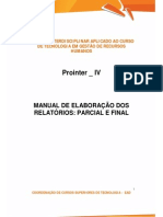 A2 Prointer IV 2014 2 TRH4 Manual de Elaboracao 16 Out Jackeline