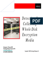 Detecting and Collecting Whole Disk Encryption Media