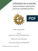 Motor de CD. Ecuaciones de Estado, Diagrama a Bloques, Diagrama Analogico, Simulacion.