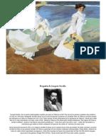 Biografía Sobre La Vida de Joaquín Sorolla