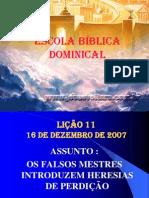 ESCOLA DOMINICA - LIÇÃO 11.ppt