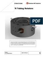 CTR Tubing Rotators Operating Instructions